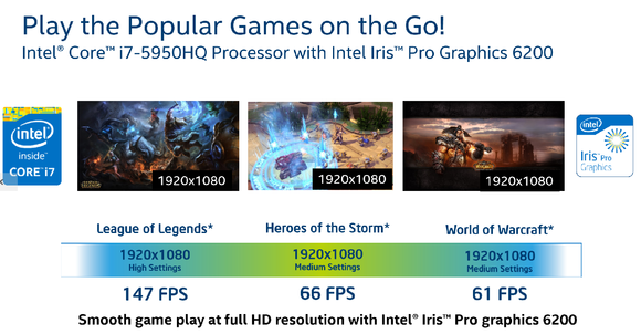 intel broadwell h gaming