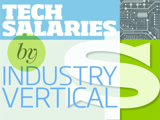 Tech salaries from industry verticals