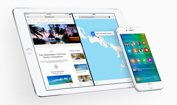 ios9 ipad and iphone