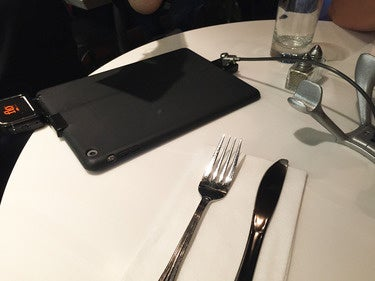 iPad restaurant ordering terminal nonfunctioning