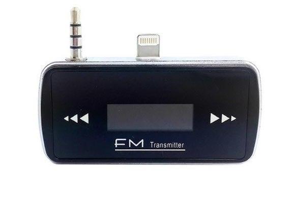 iphone 6 fm transmitter music player