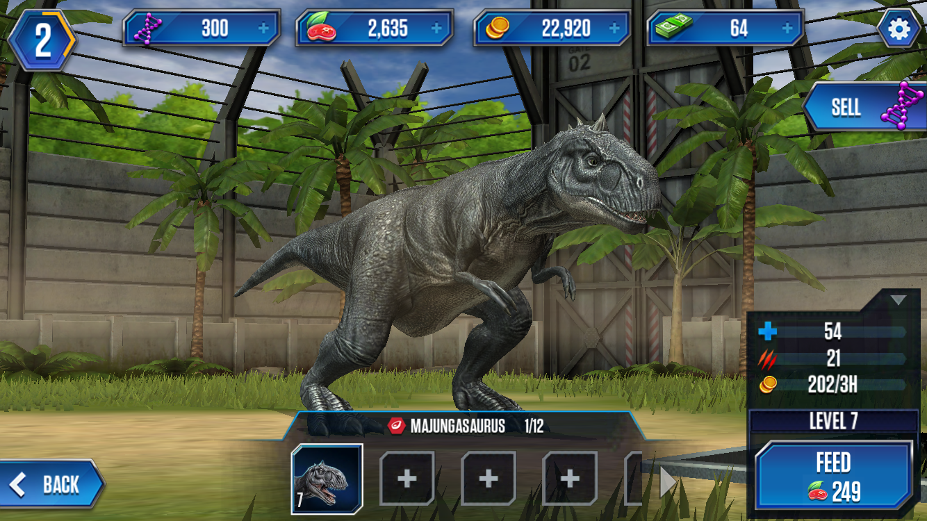 Freemium field test jurassic world the game might leave - Dinosaure jurassic world ...