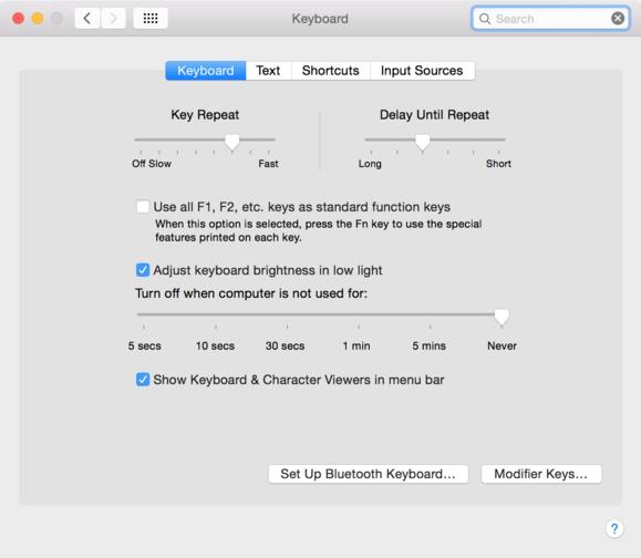 mac 911 keyboard function