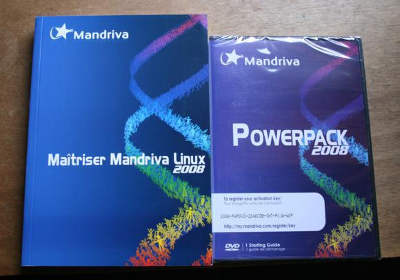 mandriva boxed