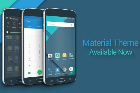 material design theme galaxy s6