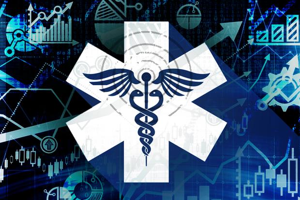medical care charts cloud hospitals