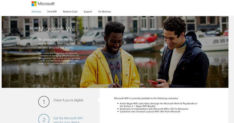 Leaked Microsoft WiFi service could bring expanded hotspot