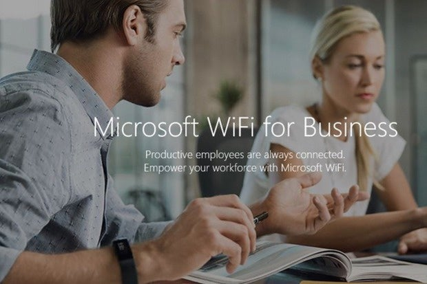 Microsoft WiFi for business