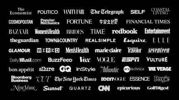 news app has dozens of launch partners