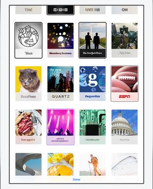 news app partner publication display