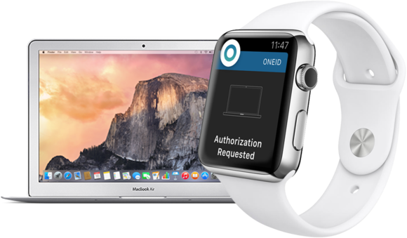 oneid macbook apple watch
