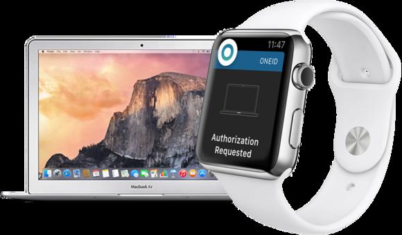 oneid macbook apple watch