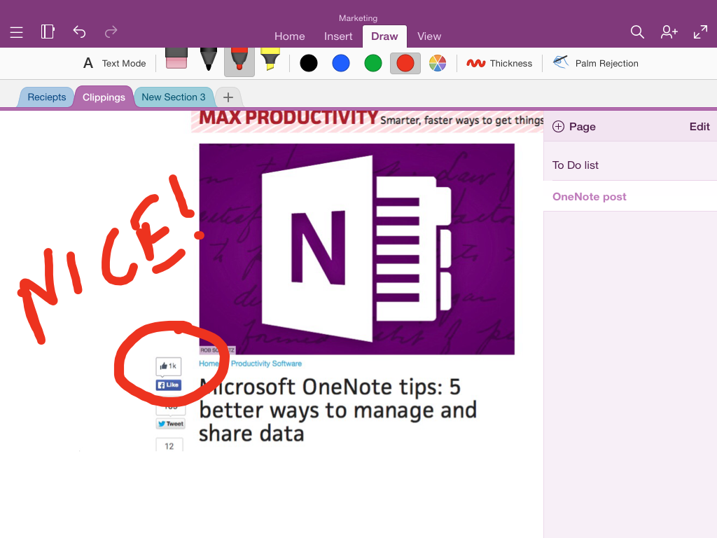 OneNote for iPad tips to make you more productive | Macworld
