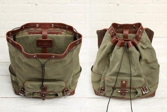 padandquill leatherbackpack ipad