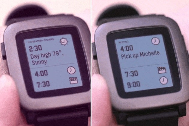 Apple Watch Time Travel vs. Pebble Time: Just how big a ...