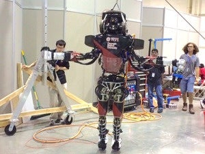 WPI's robot