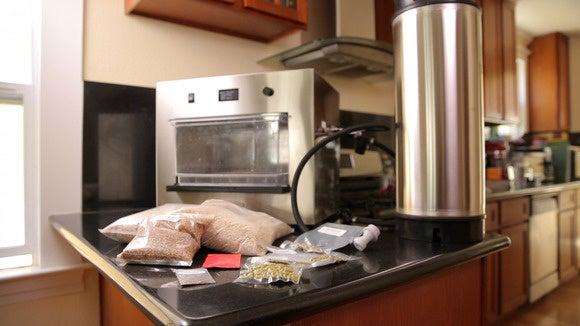 picobrew zymatic ingredients keg machine