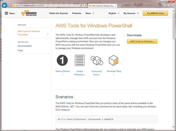 powershell tools aws3