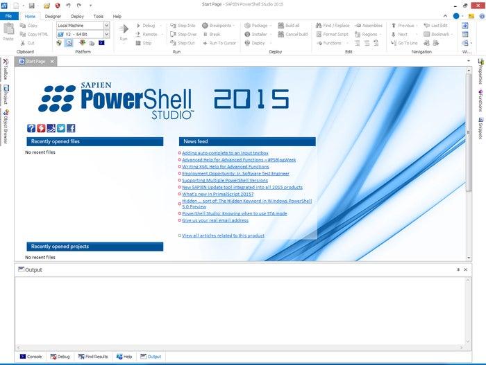 Sapien Technologies PowerShell Studio 2015
