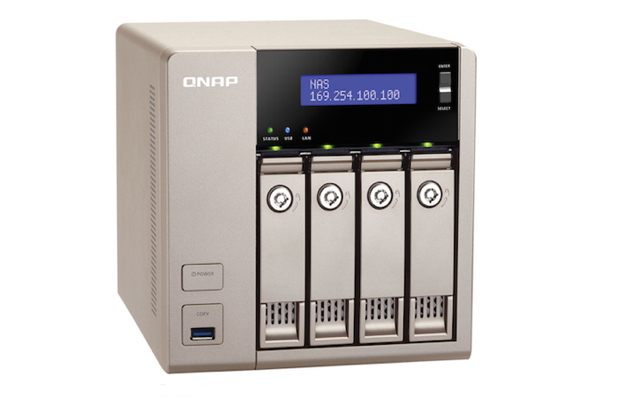 QNAP's TVS-463 Golden Cloud Turbo NAS     wow  | Network World