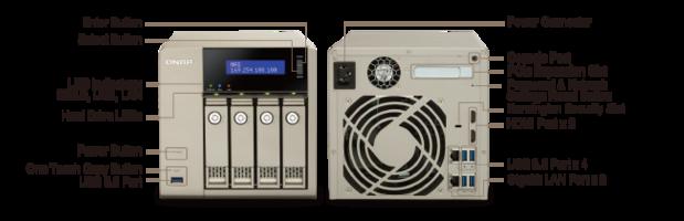 qnap tvs 463 hardware