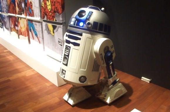 r2 d2 fridge droid