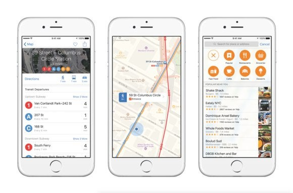 How Apple Maps hopes to catch Google Maps and Waze | Macworld on