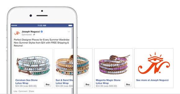 shopify facebook buy button
