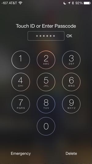 six digit code