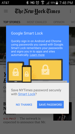 smart lock nytimes