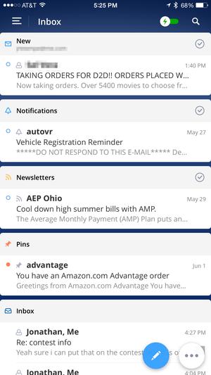 spark smart inbox