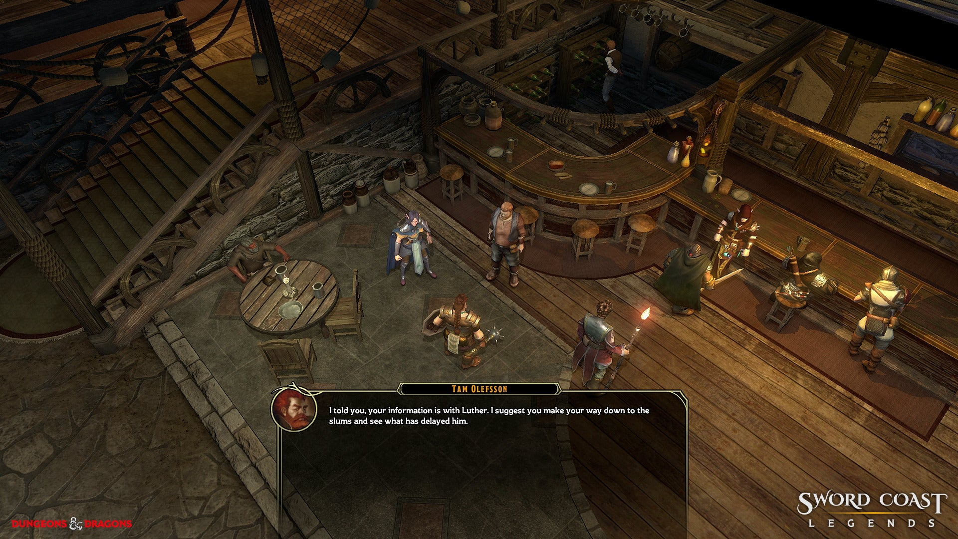 sword coast legends how to make teammates stay still