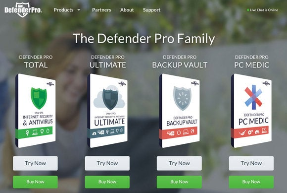tech support defender pro