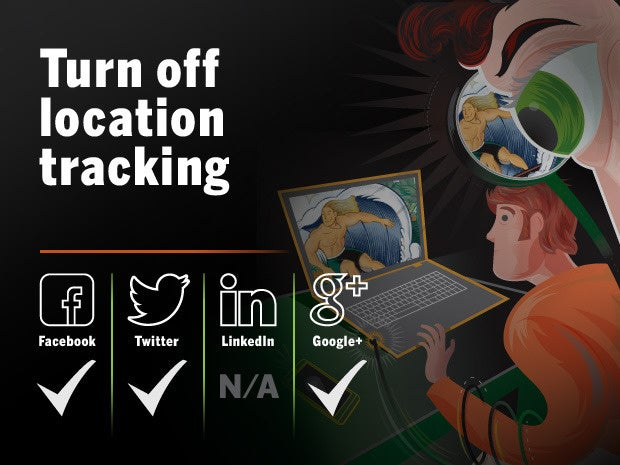 turn off location tracking 17