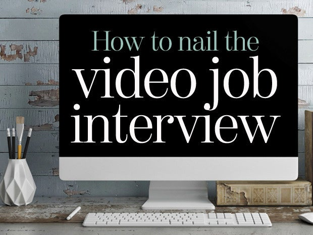 How to nail the video job interview