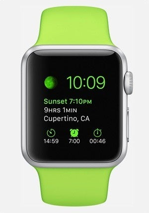 watch sport face complications