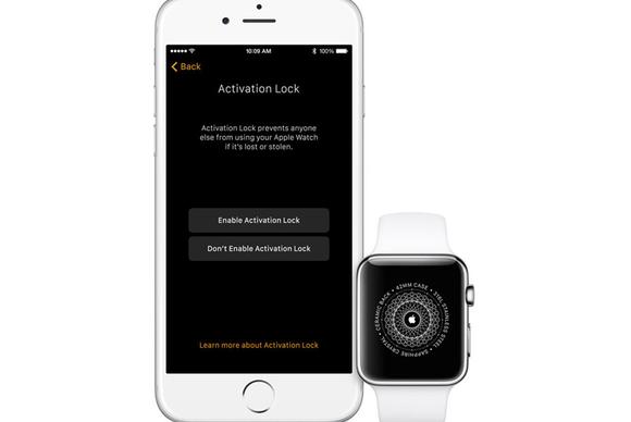 watchos 2 activation lock
