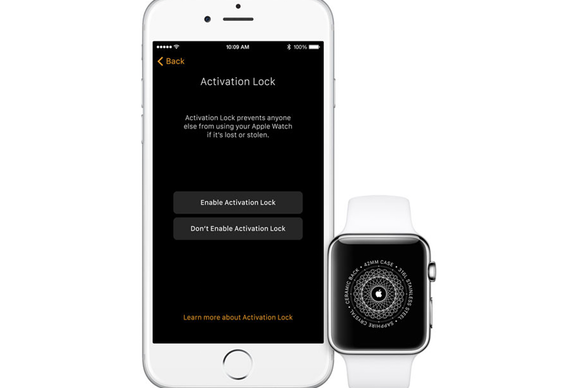 watchos 2 activation lock