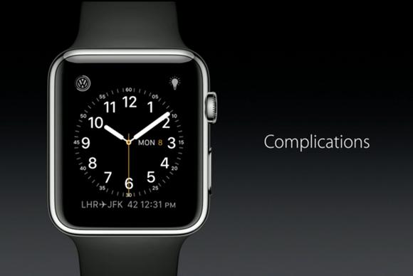 watchos 2 complications