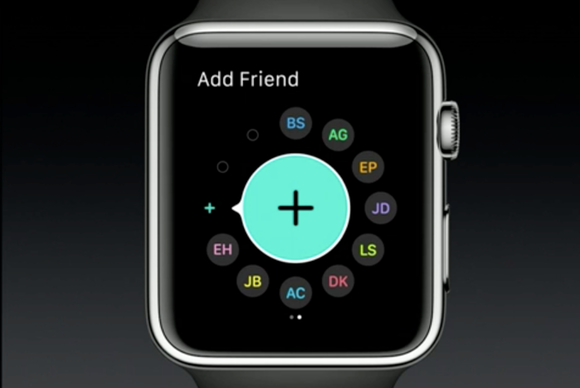 watchos 2 friends