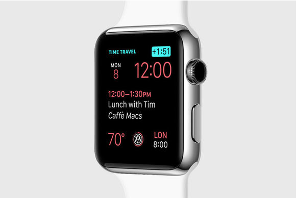watchos 2 time travel
