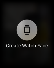 watchos beta 1 create single photo watch face