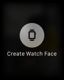 watchos beta 1 create single photo watch face