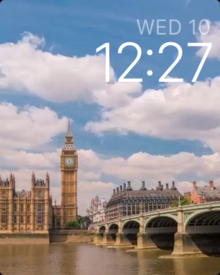 watchos beta 1 time lapse watch face