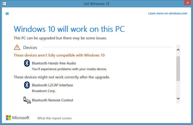 Windows 10 compatibility issues