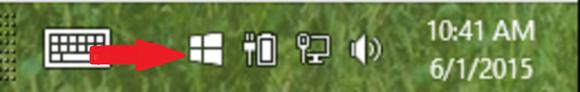 reserva de la barra de tareas de Windows 10