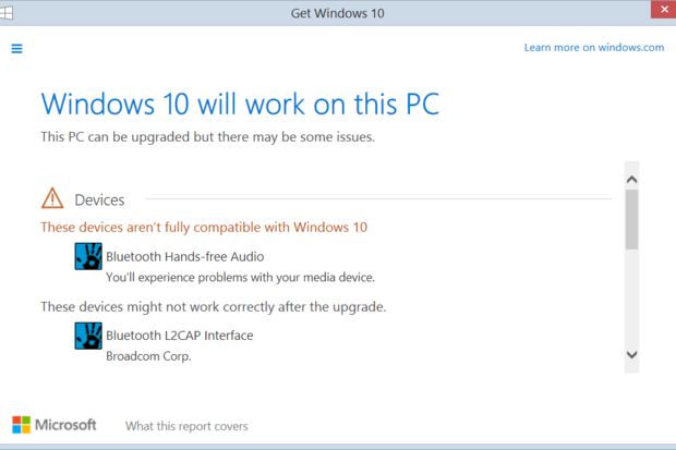 windows10 compatibility