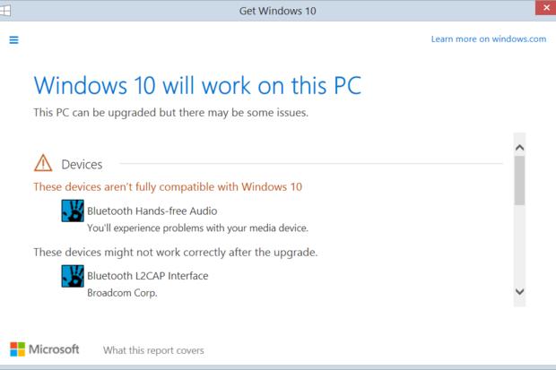 windows10 compatibility
