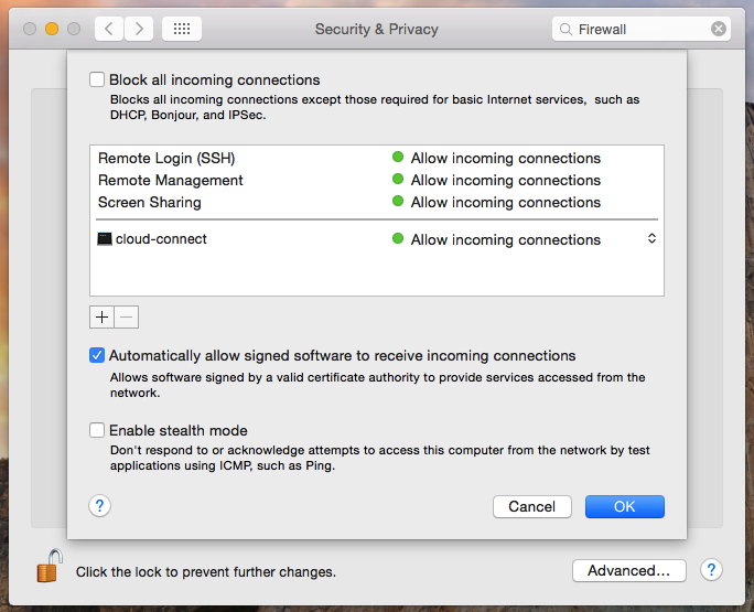 How to use the OS X firewall | Macworld