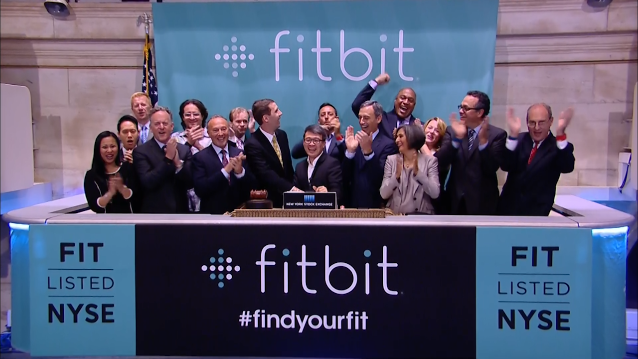 At the fitbit ipo celebration at new york stock exchange on thursday - At The Fitbit Ipo Celebration At New York Stock Exchange On Thursday 83